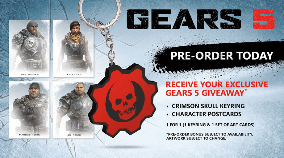 Gears 5 Pre-order Now