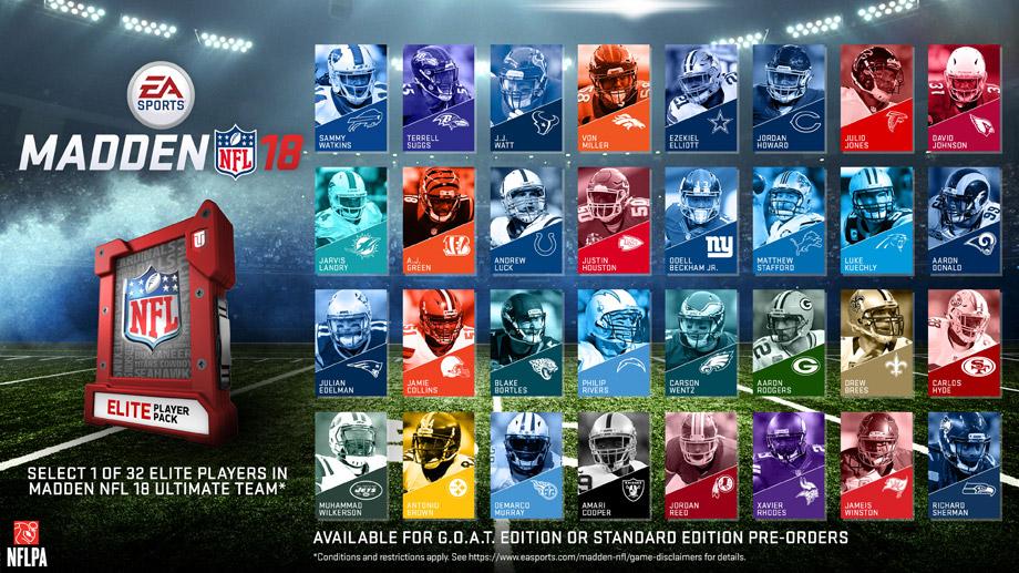 Madden NFL 18 - Pre-order bonus