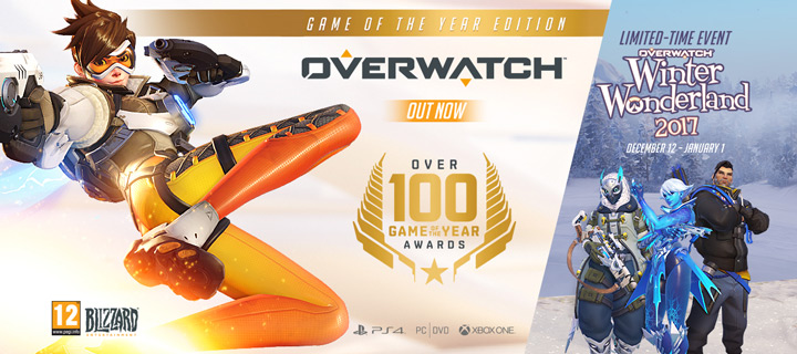 Overwatch Winter Wonderland 2017 Limited Time Event