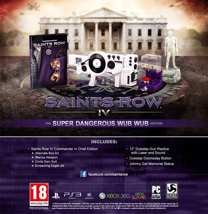 Saints Row IV Super Dangerous Wub Wub Edition