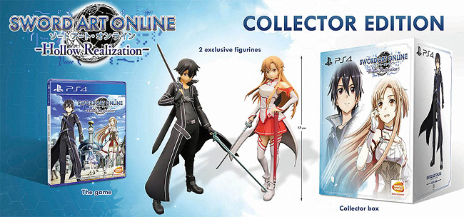 Sword Art Online Hollow Realisation Collectors Edition