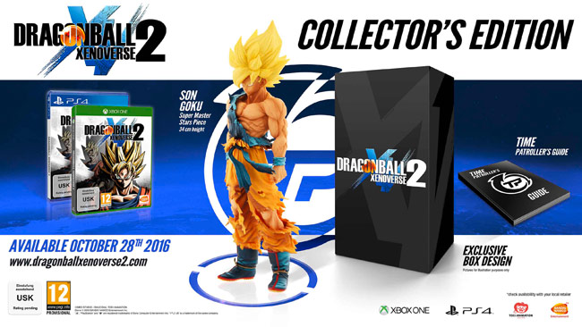 Dragonball Xenoverse 2 Collector's Edition Contents